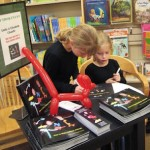 Deanna's daughters at their BN book signing