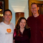 Deanna & Kurt with author Hugh Howey