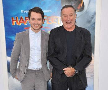 © Featureflash | Dreamstime.com - Elijah Wood, Robin Williams, Photo