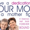 Time for dedications to YOUR MOM to go into my book!