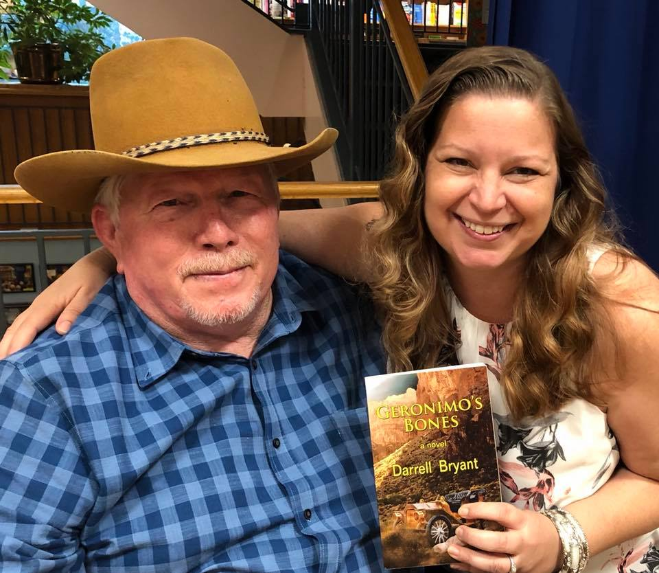 With author Darrell Bryant